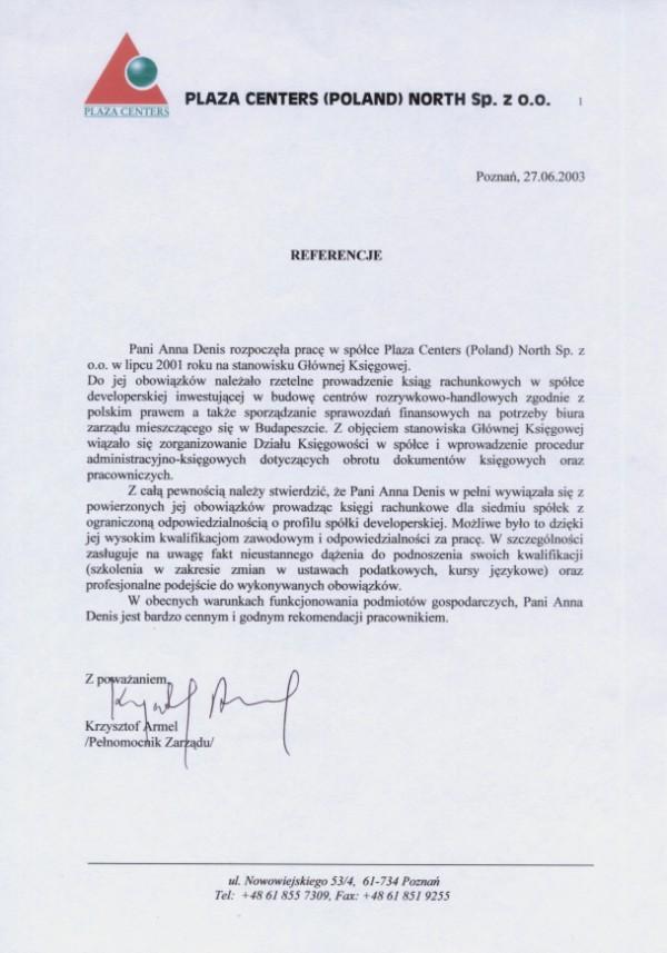 POWIĘKSZ - Uprawnienia i referencje - Biuro Rachunkowe Tax & Finance Poznań